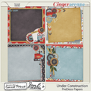 Under Construction - PreDeco Papers