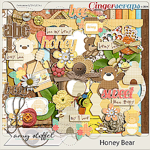 Honey Bear by Amy Stoffel