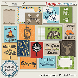 Go Camping - Pocket Cards