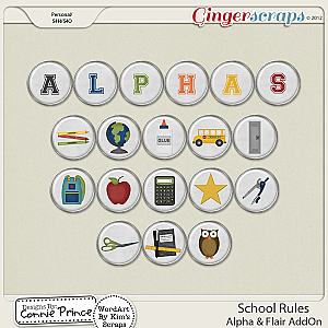 School Rules - AddOn Alpha