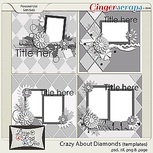 Crazy About Diamonds {templates}