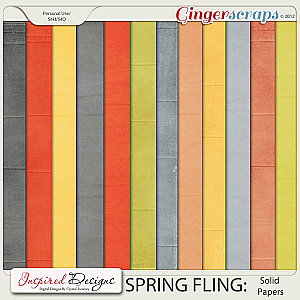 SPRING FLING: Solids