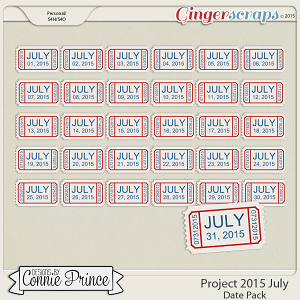 Project 2015 July - Dates