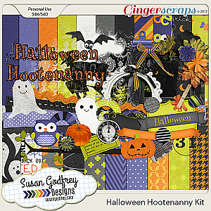 Halloween Hootenanny Kit by Susan Godfrey