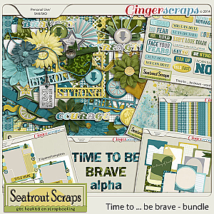 Time to Be Brave Bundle by Seatrout Scraps