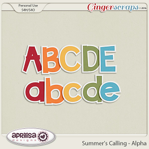 Summer's Calling - Alpha by Aprilisa Designs
