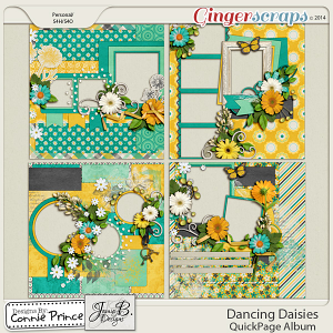 Retiring Soon - Dancing Daisies - QuickPage Album