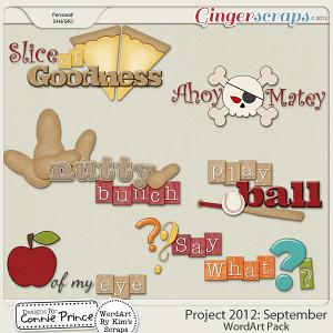Retiring Soon - Project 2012:  September - WordArt