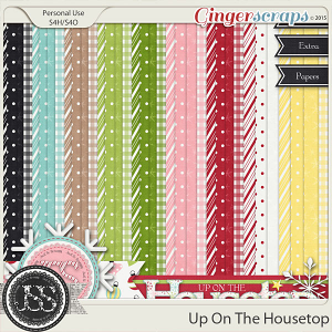 Up On The Housetop Pattern Papers