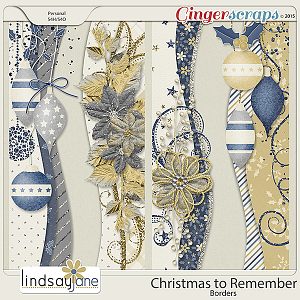 Christmas To Remember Borders by Lindsay Jane