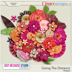 Going The Distance Flowers by JB Studio
