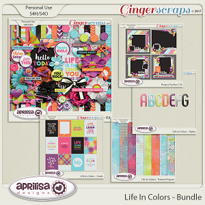 Life In Colors - Bundle by Aprilisa Designs