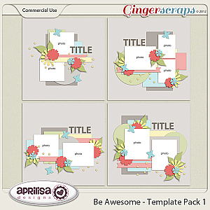 Be Awesome - Template Pack 1