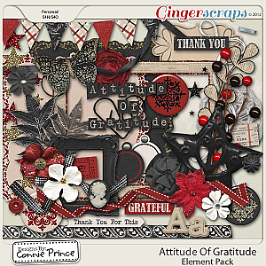 Attitude Of Gratitude - Element Pack by Connie Prince