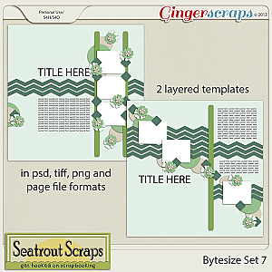 Bytesize Set 7 by Seatrout Scraps