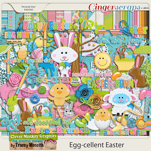 Egg-Cellent Easter by Clever Monkey Graphics