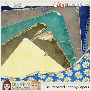 Be Prepared Shabby Papers by K4K