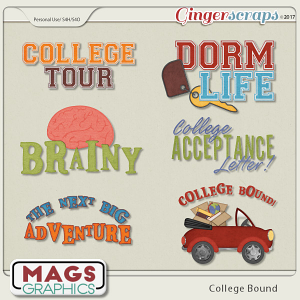 College Bound WORD ART by MagsGraphics