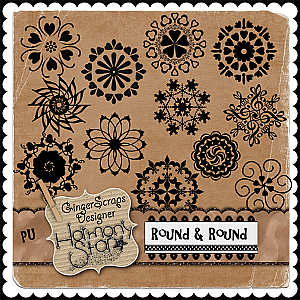 Round &amp; Round PU