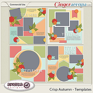 Crisp Autumn Template by Aprilisa Designs