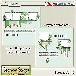 Bytesize Set 10 by Seatrout Scraps