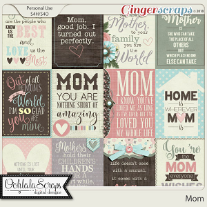 Mom Pocket Cards