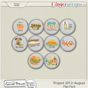 Retiring Soon - Project 2012:  August -  Flair Pack