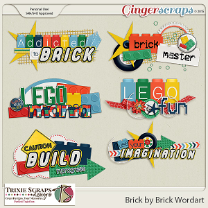 Brick by Brick Wordart by Trixie Scraps Designs