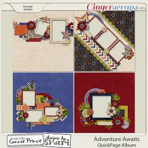 Retiring Soon - Adventure Awaits - QuickPage Album