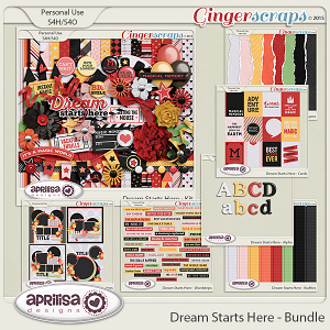 Dream Starts Here - Bundle