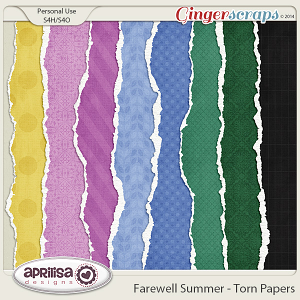 Farewell Summer - Torn Papers