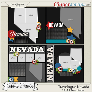 Travelogue Nevada - 12x12 Temps (CU Ok)