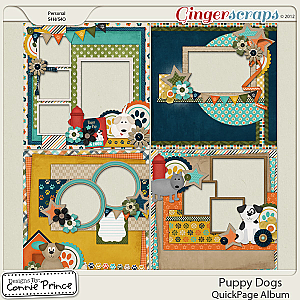 Puppy Dogs - QuickPage Album