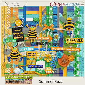 Summer Buzz by Clever Monkey Graphics