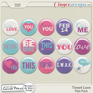 Tweet Love - Flair Pack