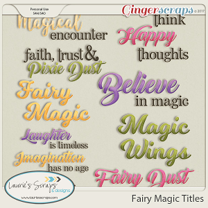 Fairy Magic Titles