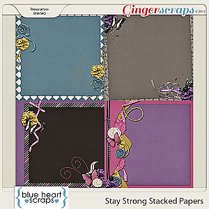 Stay Strong Stacked Papers
