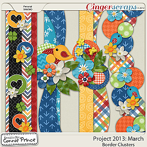 Project 2013: March - Border Clusters