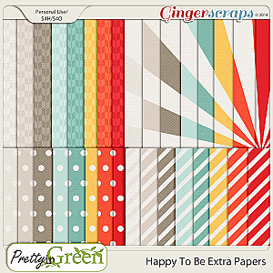 Happy To Be Extra Papers