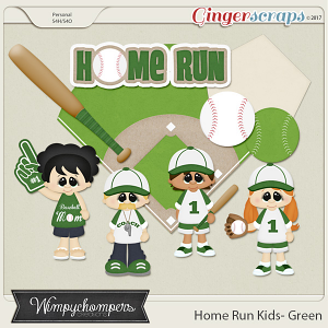 Home Run Kids- Green