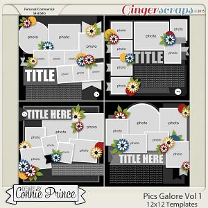 Pics Galore Volume 1 - 12x12 Temps (CU Ok)
