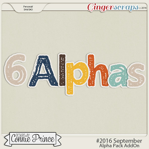 #2016 September - Alpha Pack AddOn