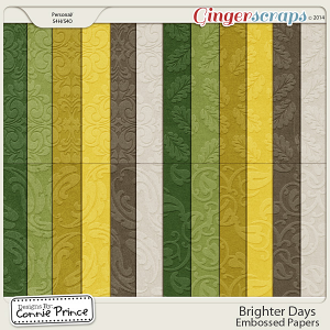 Brighter Days - Embossed Papers