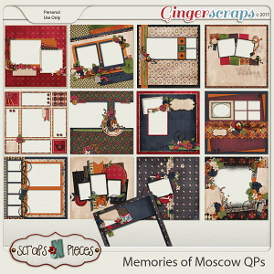 Memories of Moscow Quick Pages