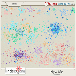New Me Scatterz by Lindsay Jane