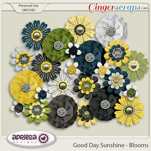 Good Day Sunshine - Blooms by Aprilisa Designs