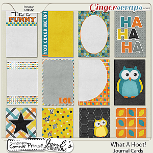 Retiring Soon - What A Hoot - Journal Cards