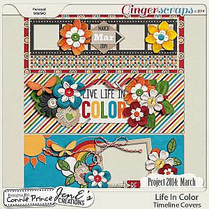 Project 2014 March: Life In Color - Facebook Timeline Covers