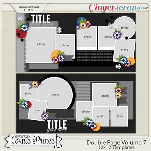 Double Page Volume 7 - 12x12 Temps (CU Ok)