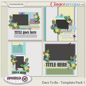 Dare To Be - Template Pack 1